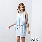 KiKi INLook性感深黑荷葉邊雞尾酒小禮服(2色)