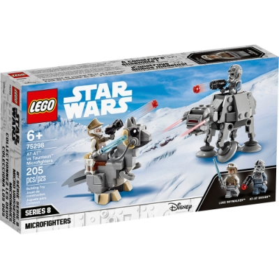 樂高LEGO 星際大戰系列 - LT75298 AT-AT vs. Tauntaun Microfighters