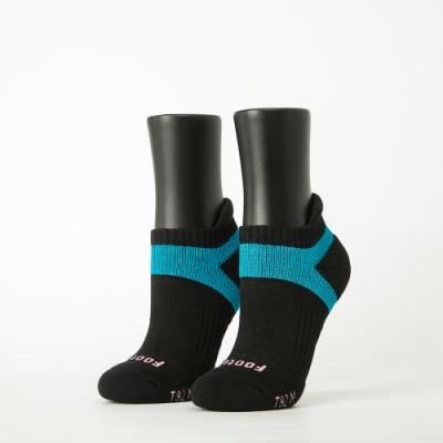 Footer除臭襪-輕壓力足弓船短襪-六雙入(黑*2+桃紅*2+灰*2)