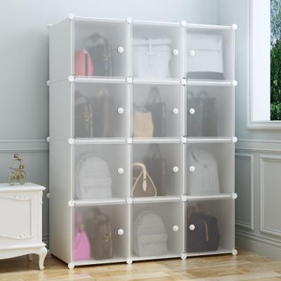 Mr-box-12格12門包包收納櫃/12格12門2掛衣櫥-三款可選[限時下殺]