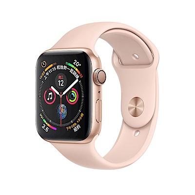 Apple Watch Series 4 LTE 44mm 金色鋁金屬錶殼粉沙色運動型錶帶