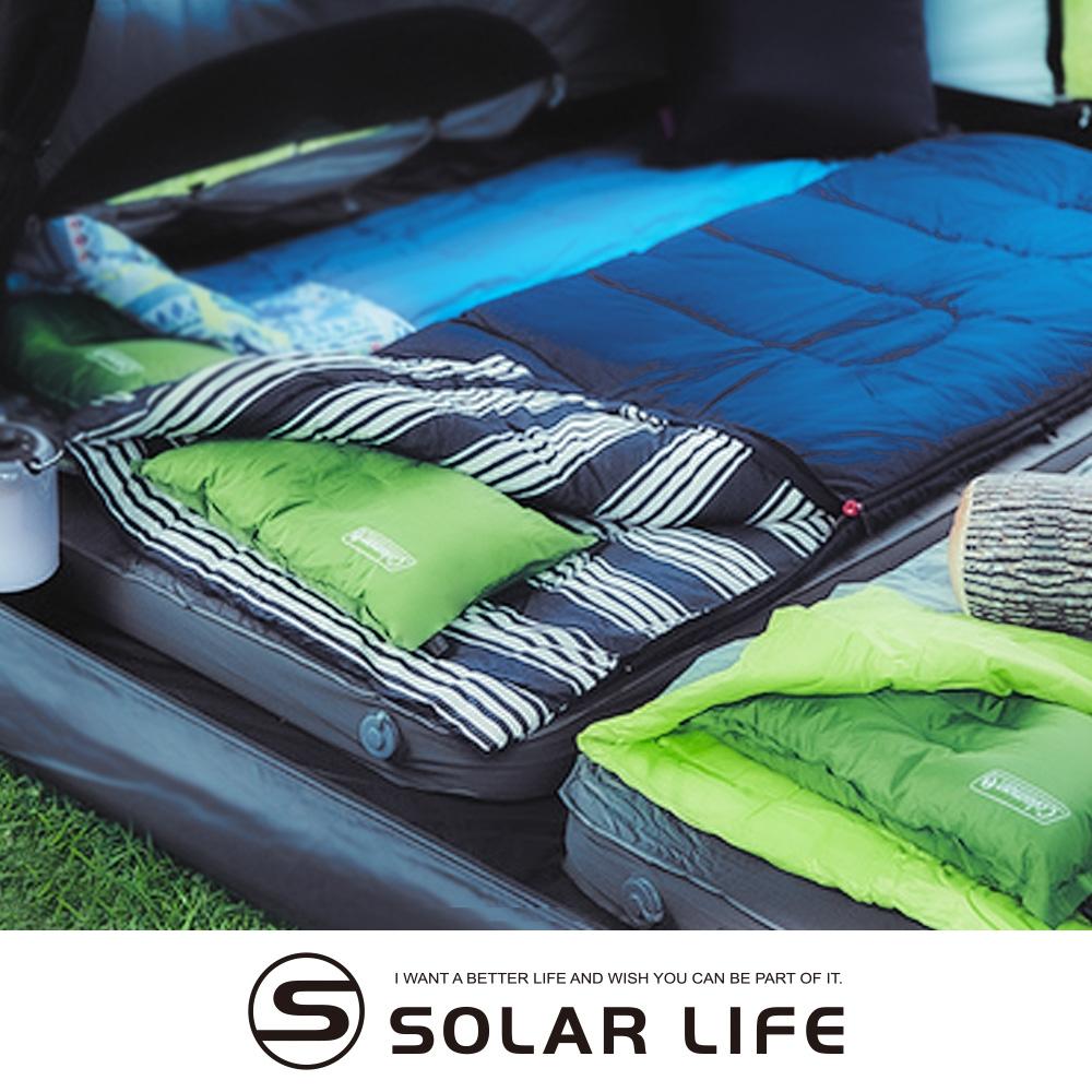 Coleman 冒險者紓壓睡袋C5/CM-38136.信封型睡袋 雙人睡袋 纖維睡袋 露營睡袋 可機洗拼接