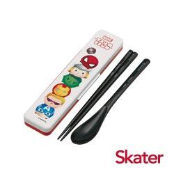 Skater湯匙筷子組(附盒) 復仇者聯盟TSUM