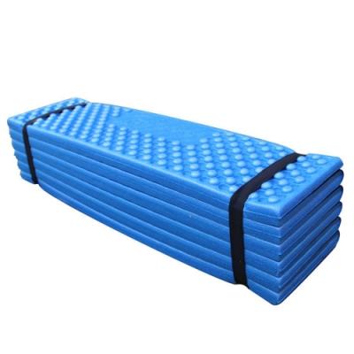 PUSH!戶外休閒用品防水防塵雙蛋槽折疊防潮墊睡墊加厚防潮墊P139