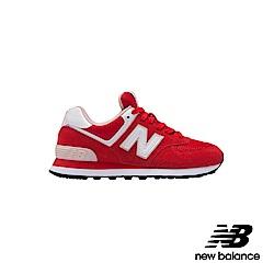 New Balance 復古鞋_WL574VDR_女性_紅色