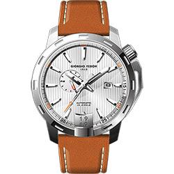 GIORGIO FEDON 1919 永恆系列運動版機械錶-銀x棕/45mm