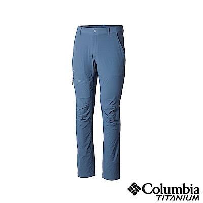 Columbia 哥倫比亞 男款-鈦UPF50防潑長褲-墨藍 UAE06970IB