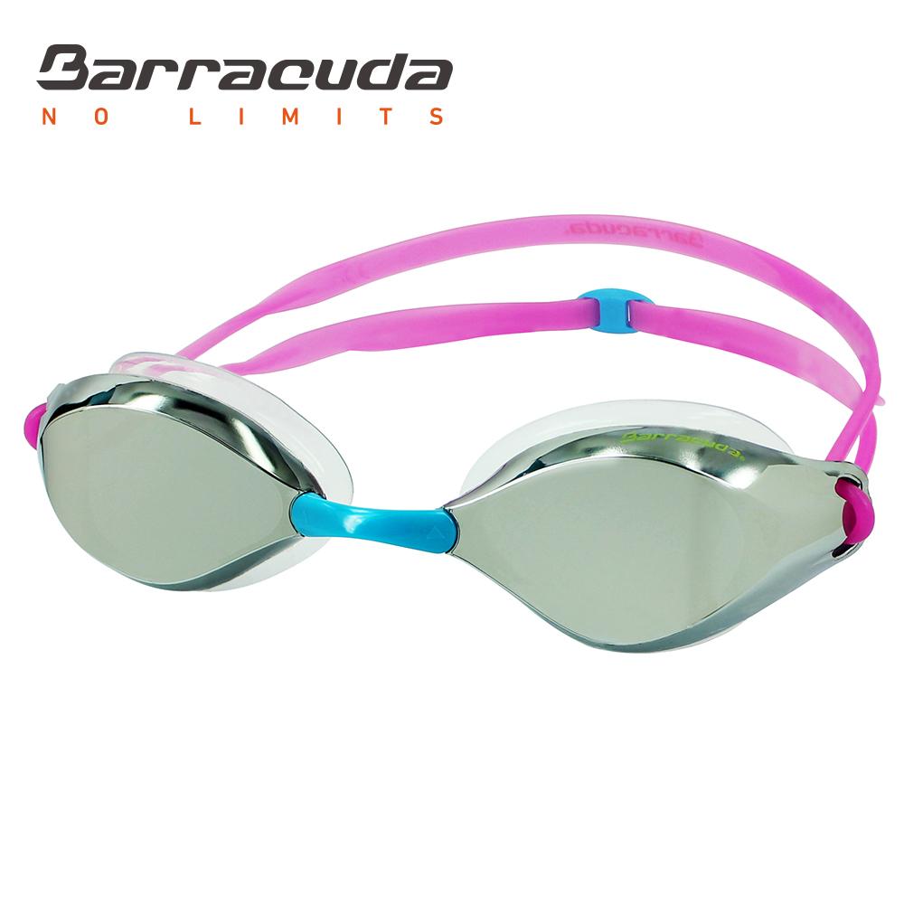 巴洛酷達 廣角抗UV防霧電鍍泳鏡 Barracuda LIQUID WAVE #91410