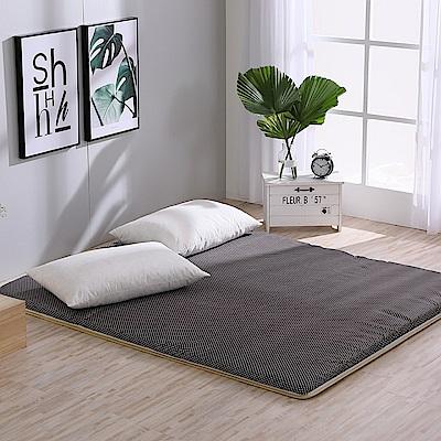 LAMINA 雙竹兩用透氣床墊-水玉點點-咖(雙人)