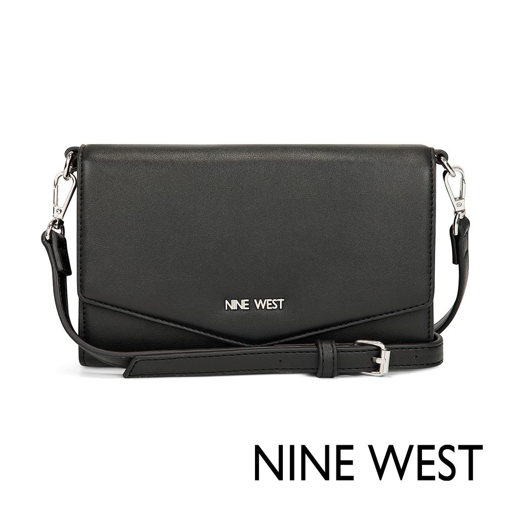 NINE WEST WHITLEY信封式萬用包-黑色(517662)