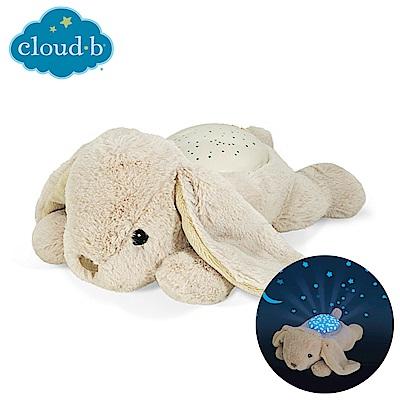 美國《Cloud b》星空變色夜燈-安睡小兔子