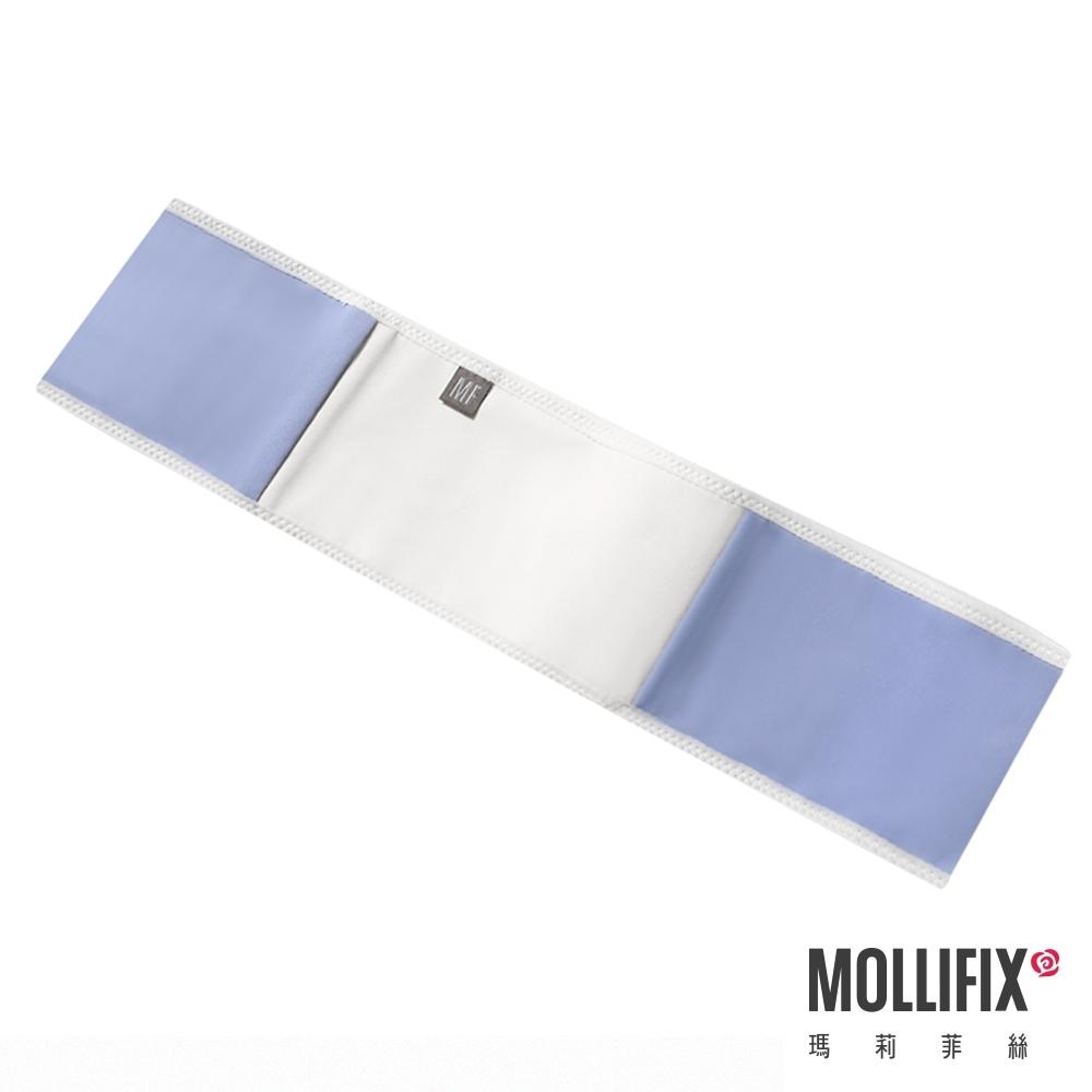Mollifix 瑪莉菲絲 健身環狀彈力帶 (灰藍+白)