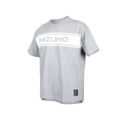 MIZUNO 男 1906系列短袖T恤 灰白