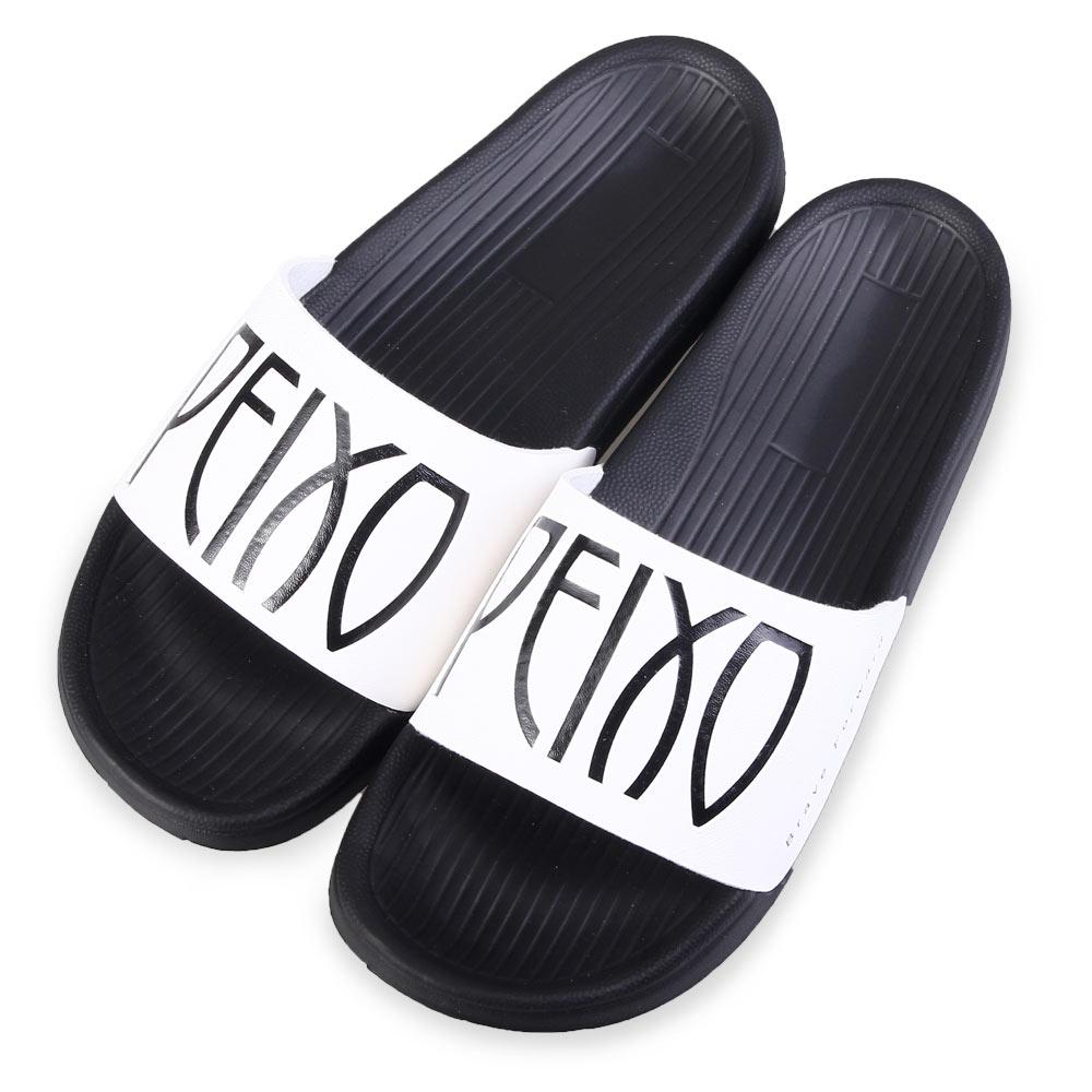 TTSNAP涼拖鞋-時尚大方撞色運動彈性涼拖鞋 白