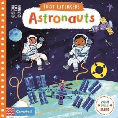 First Explorers:Astronauts 小小探險家:太空人 推拉硬頁書