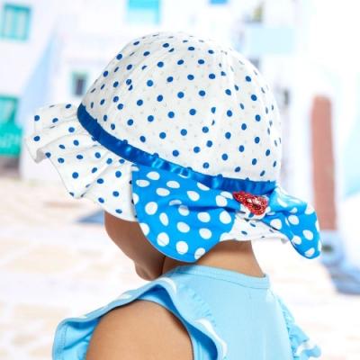 WHY AND 1/2 mini 點點遮陽帽-遮陽擋片可收納