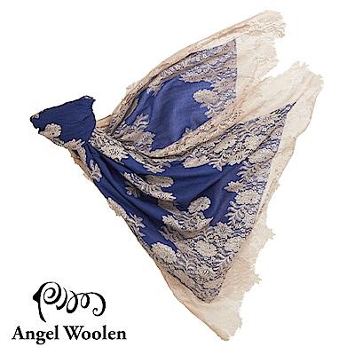 【ANGEL WOOLEN】寶石藍印度手工cashmere