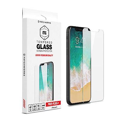 Patchworks iPhone X 專業ITG手機玻璃保護貼