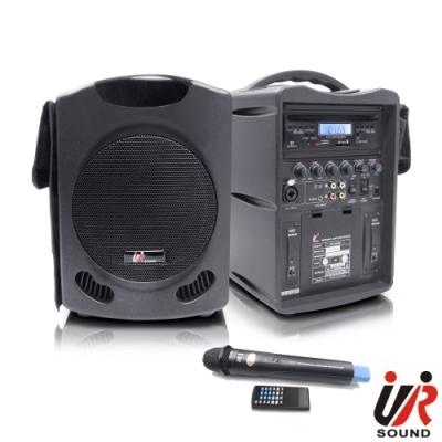 UR SOUND 單頻藍芽/CD/USB/SD移動式無線擴音機 PU300CDNB