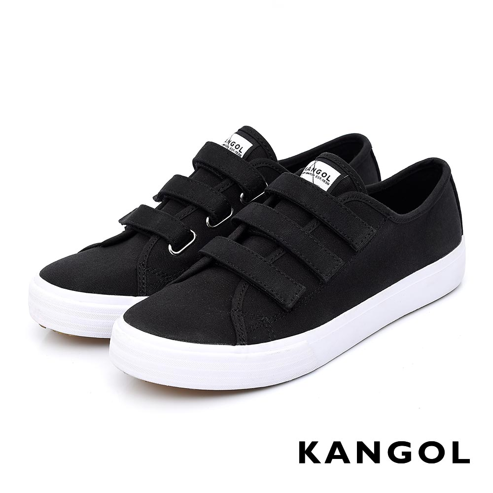 KANGOL - 休閒三帶帆布鞋-女款(共三色)