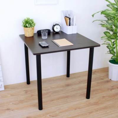 頂堅 寬80x高75/公分-正方形書桌/餐桌/工作桌/電腦桌/會議桌-二色
