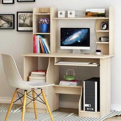 【Incare】多層收納簡約書桌/電腦桌(兩色任選/110x130x45cm)