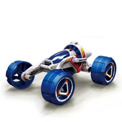 台灣寶工Pro skit科學玩具鹽水燃料電池引擎動力越野車GE-754科玩全地形車模型salt water fuelcell car kit