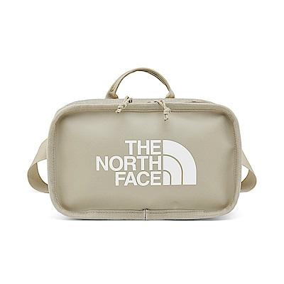 The North Face北面男女款米色輕便休閒腰包|3KYXEJ7