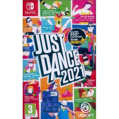 舞力全開 2021 Just Dance 2021 - NS Switch 中英文歐版