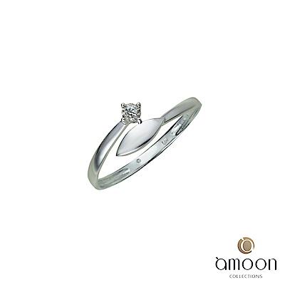 amoon 浪漫艾菲爾系列 光點 9K金鑽石戒指
