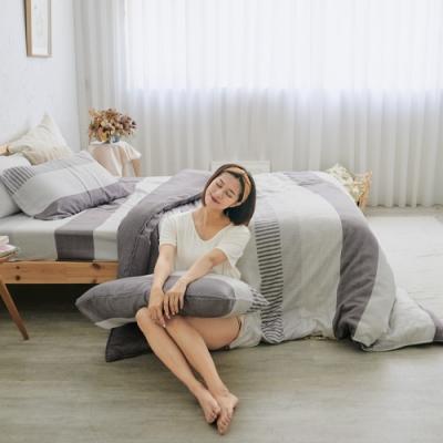 BUHO 100%TENCEL純天絲床包枕套組-雙人特大(拾雅語注)