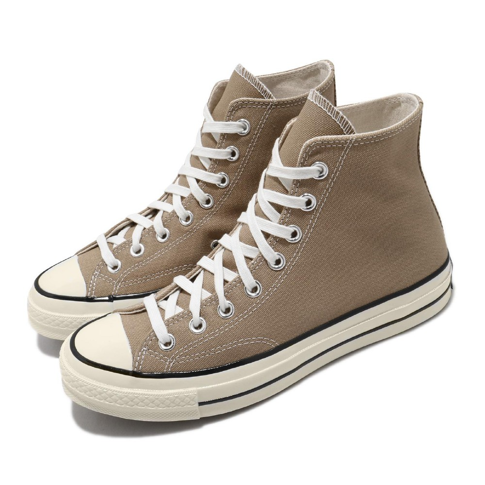 CONVERSE 休閒鞋 Chuck 70 Hi 高筒 男女鞋 潮流 穿搭 情侶鞋 奶茶色 卡其 白