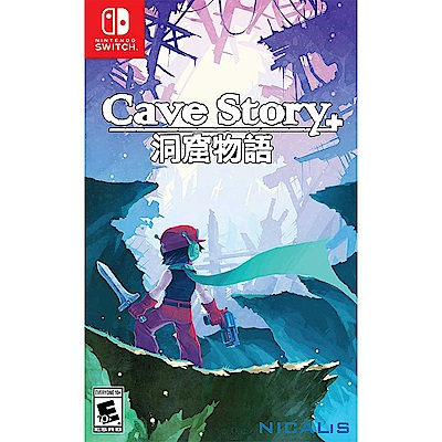 洞窟物語+ Cave Story+ -Nintendo Switch 英文美版