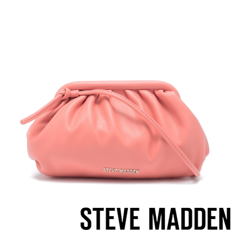 STEVE MADDEN-BNIKKI 軟綿雲朵側背包-亮橘色