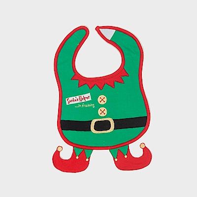 美國Frenchie MC嬰童圍兜 - 聖誕小幫手