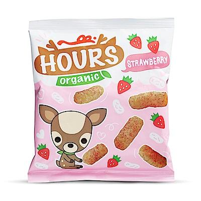 皮皮奧斯_有機泡芙條-草莓10g /6包一盒