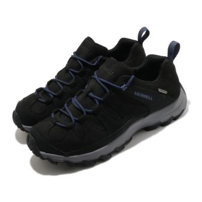 Merrell 戶外鞋 Ontonagon Peak 運動休閒 男鞋 登山 越野 耐磨 防水 支撐 氣墊 緩震 黑 灰 ML035235