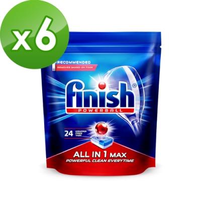 亮碟Finish-洗碗機多效合一洗滌球(24顆X6)