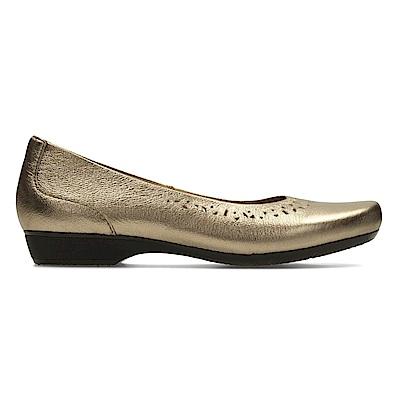 Clarks Blanche Garryn 女 休閒鞋 金