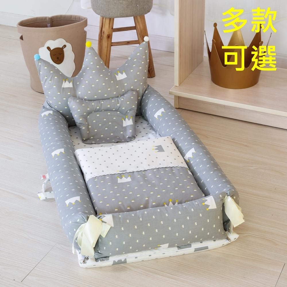 [Kori Deer 可莉鹿] 造型純棉多功能床中床附被子