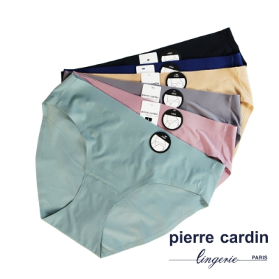 Pierre Cardin皮爾卡登 低腰無痕三角褲(5件組)-502-6554