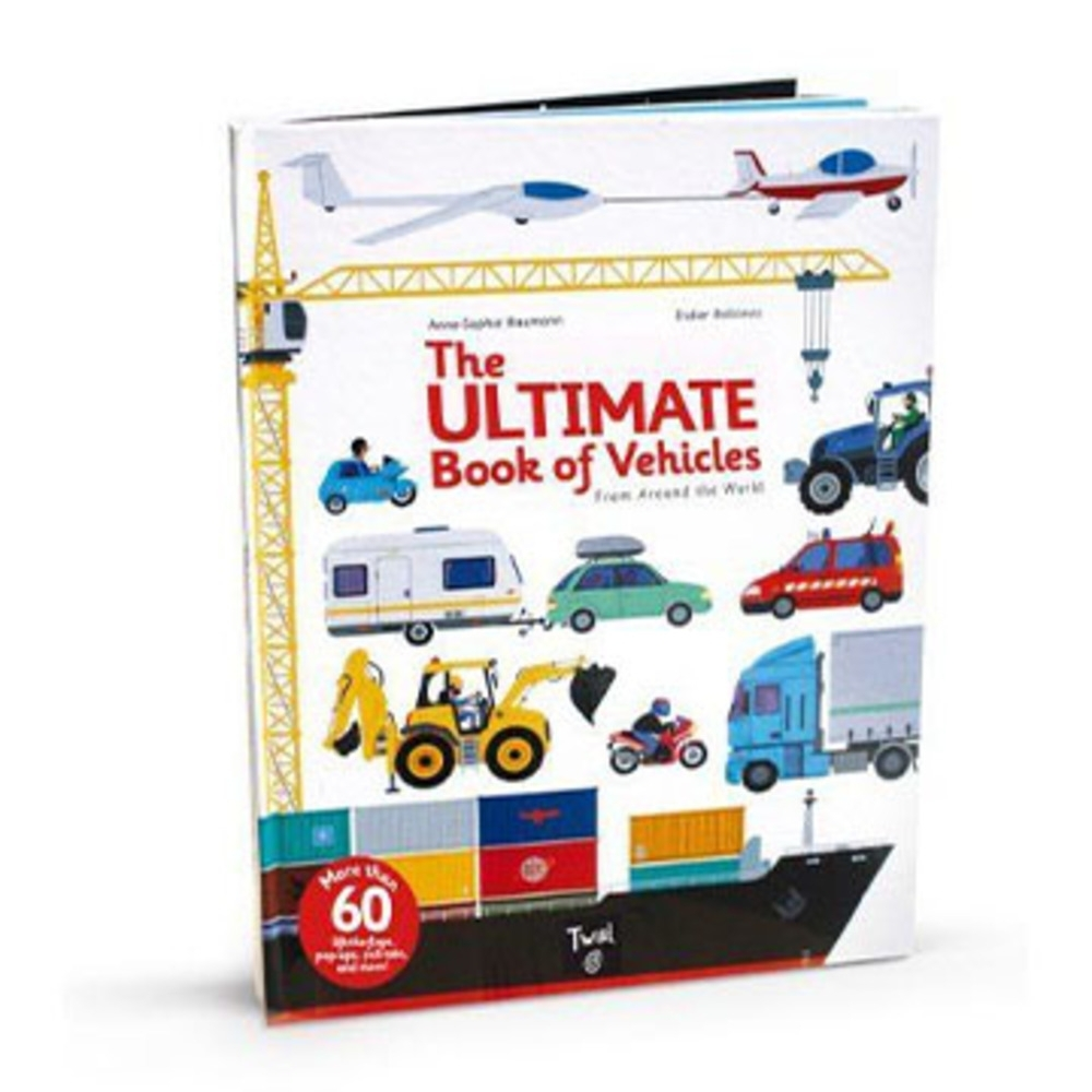 The Ultimate Book Of Vehicles 交通工具大百科翻頁推拉書