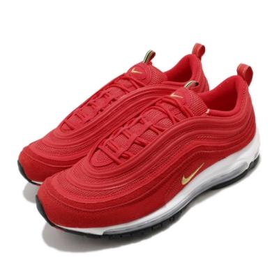 Nike 休閒鞋 Air Max 97 QS 運動 男鞋 經典款 氣墊 反光 避震 球鞋 穿搭 紅 金 CI3708600