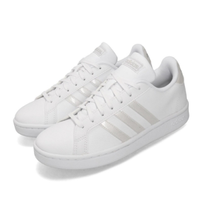 adidas 休閒鞋 Grand Court 復古 板鞋 女鞋