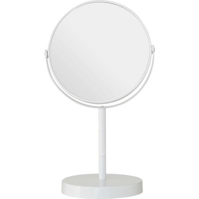 《Premier》雙面高腳桌鏡(白26cm)