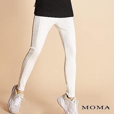 MOMA 合身彈性窄褲