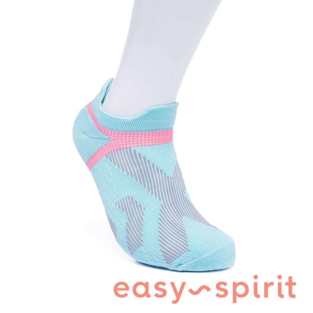Easy Spirit 舒棉彈性襪-藍綠色