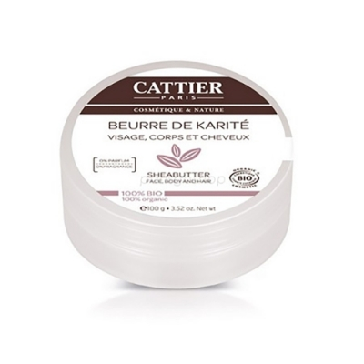 CATTIER卡帝耶 歐盟BIO 乳油木果油 100G