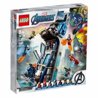 樂高LEGO 超級英雄系列 - LT76166 Avengers Tower Battle