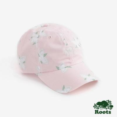 配件Roots-花卉印花棒球帽-粉